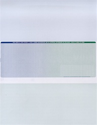 Professional 2 Color Pantograph Ultra Secure Check Stock